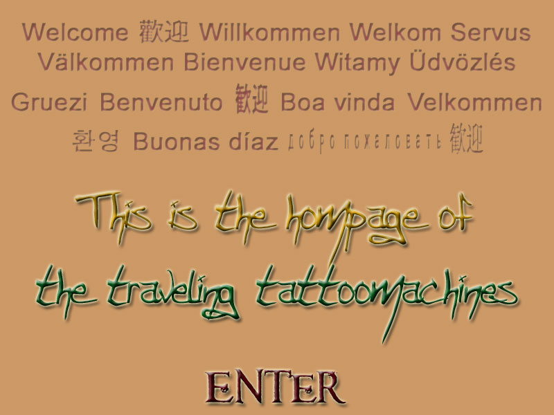 Click the Banner for GERMAN - TATTOO - IRONS.
